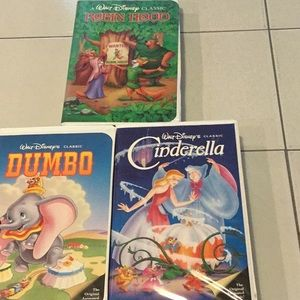 Disney VHS tapes collectibles
